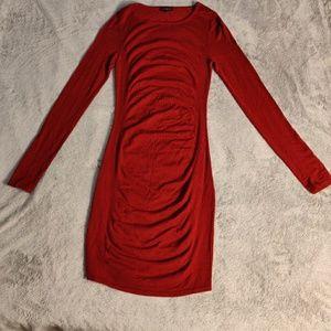 Express Long Sleeve Bodycon Dress